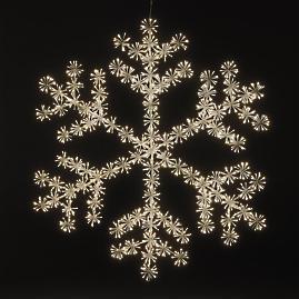 Sparkler Oversized LED Snowflake