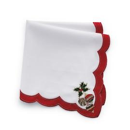 Kim Seybert Holiday Napkins, Set of Four