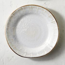 Donatella Mother of Pearl Salad Plates, Set of
