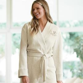 Women's Quilted Bath Robe