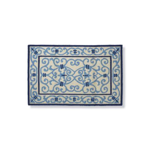 Serafina memory foam kitchen rug frontgate - L shaped rugs kitchens ...