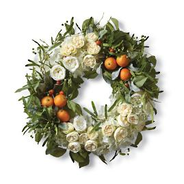 English Tea Garden Wreath