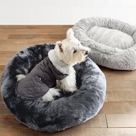 Faux Fur Pet Bed