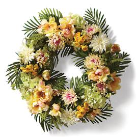Pua and Pama Wreath