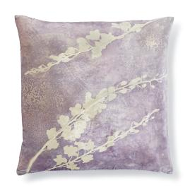 Violet Blossom Decorative Pillow