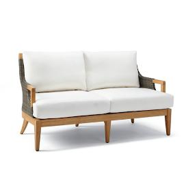Roseau Loveseat Chair with Cushions