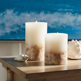 Dream Candle with Shells