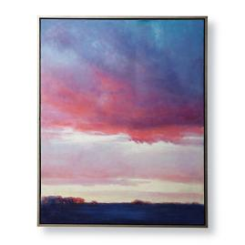 Montauk Sunset Oil on Canvas