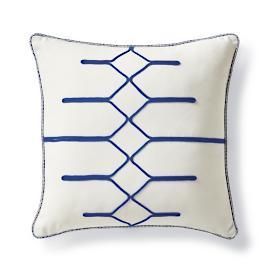Pulse Cobalt Outdoor Pillow