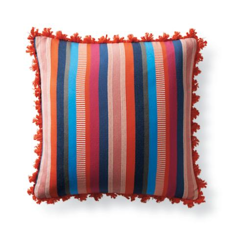 Veneta Stripe Tropical Outdoor Pillow