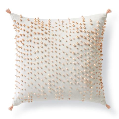 Scattered Pearl Decorative Pillow Frontgate