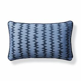 Dawei Stripe Air Blue Outdoor Lumbar Pillow