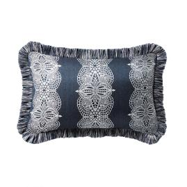 Hazelmere Midnight Outdoor Lumbar Pillow