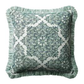 Kenzi Emerald Outdoor Pillow