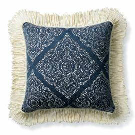 Madalyon Indigo Outdoor Pillow