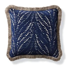 Mandabe Indigo Outdoor Pillow