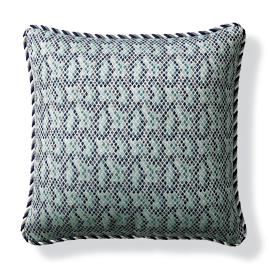 Taipan Luxe Jade Outdoor Pillow