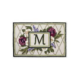Adeline Monogrammed Entry Mat