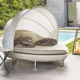 Nuvola Daybed with Cushions by Porta Forma