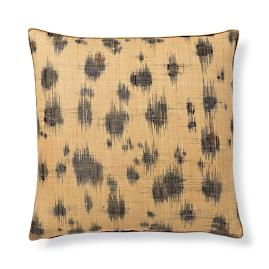 Madagascar Spot Ikat Decorative Pillow by Dransfield &