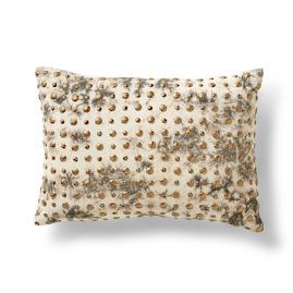 Jax Embroidered Lumbar Pillow
