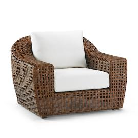 Ottavio Lounge Chair with Cushions by Porta Forma