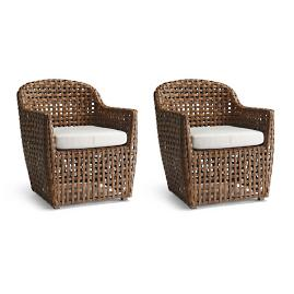 Ottavio Set of Two Dining Chairs by Porta