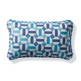 Malandrino Capri Outdoor Lumbar Pillow
