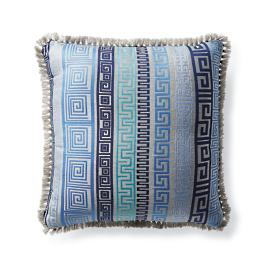 Athena Stripe Dove Outdoor Pillow