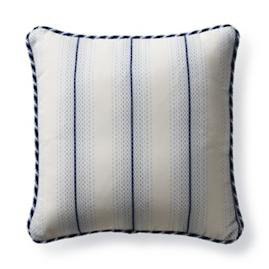 Downtown Dash Cobalt Outdoor Pillow