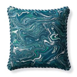 Gem Tide Outdoor Pillow