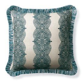 Hazlemere Peacock Outdoor Pillow
