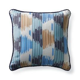 Kanaya Stripe Mist Outdoor Pillow