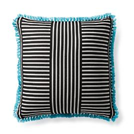 Mod Basket Onyx Outdoor Pillow