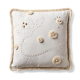 Beachcomber Ivory Outdoor Pillow