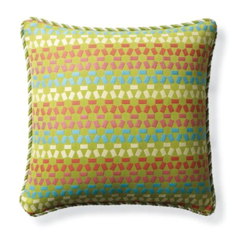 Rafina Tile Fiesta Outdoor Pillow