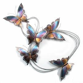 Butterfly Elegance Flight Path I Wall Art