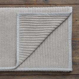 Alpaca Ribbed Throw