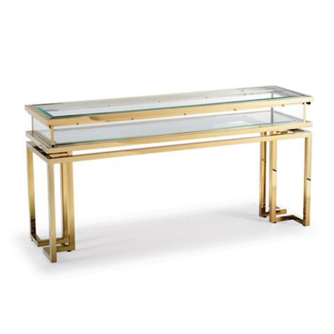 palmer sliding table collection frontgate. Black Bedroom Furniture Sets. Home Design Ideas