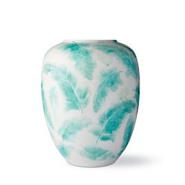 Feather Ming Large Aqua Vase