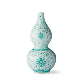 Aqua Ming Large Double Gourd Vase