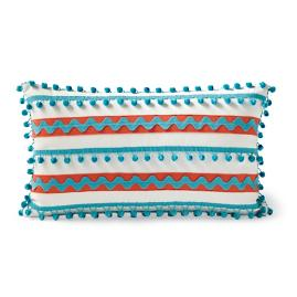 Fiesta Stripe Outdoor Lumbar Pillow