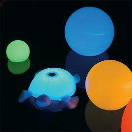 LED Floating Turtle Speaker