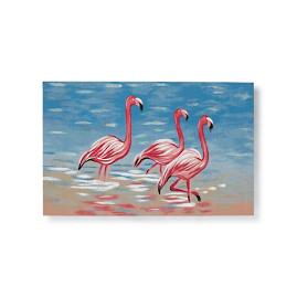 Flamingo Trio Mat