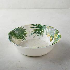 Flamingo Melamine Serving Bowl