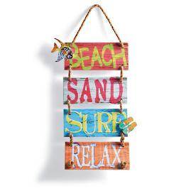 Hangin' Around Beach Sign