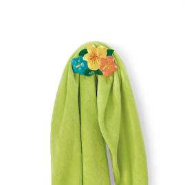 Hibiscus Flower Towel Hook