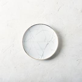 Carrara Dinner Plates by Porta Forma, Set of