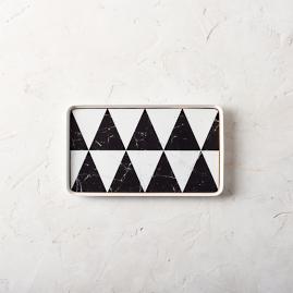 Carrara Rectangular Platter by Porta Forma