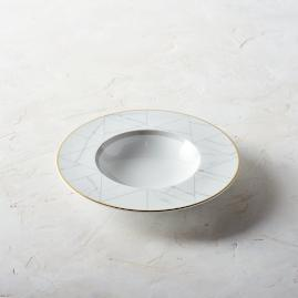 Carrara Soup Plates by Porta Forma, Set of